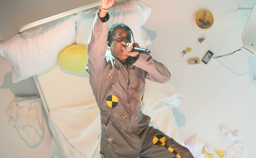 A$Ap Rocky Debuts New Songs in Cinematic 'Tonight Show' Performance