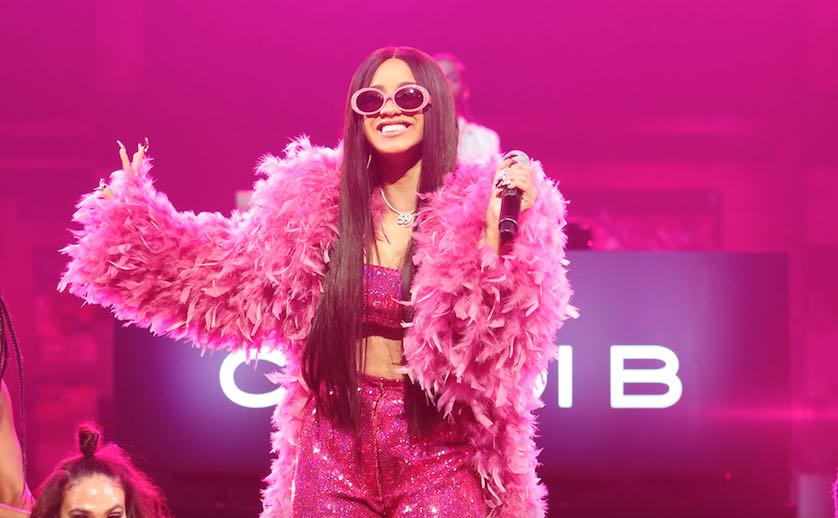 Cardi B Performs 'Bodak Yellow' on 'Jimmy Kimmel Live'