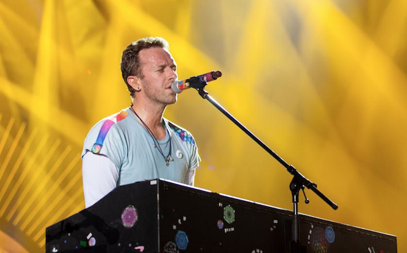 Coldplay Dedicates New Song To Harvey Victims While In Miami