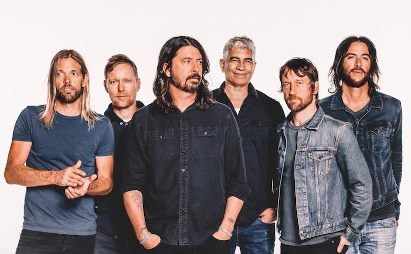 Foo Fighters' 'Concrete And Gold' hits number one on Billboard charts