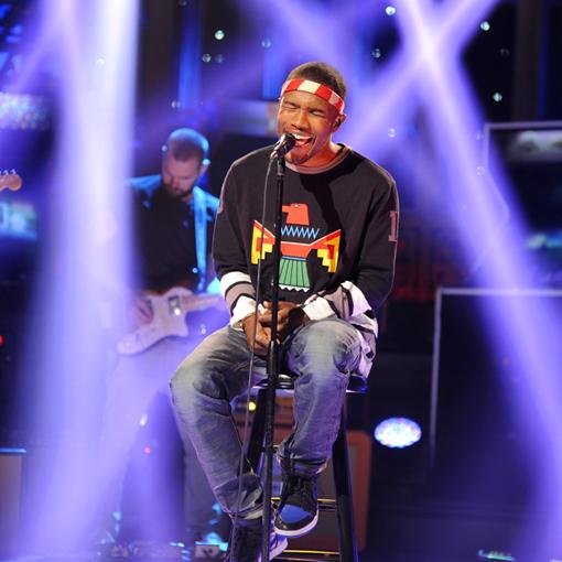 WATCH: Frank Ocean's 'Forrest Gump' Grammy Rehearsal