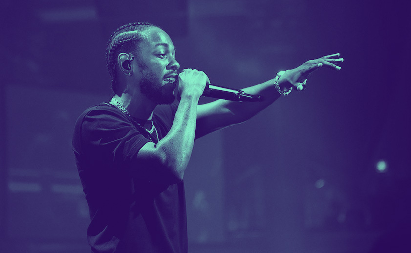 Kendrick Lamar opens Grammy Awards with politically charged performance