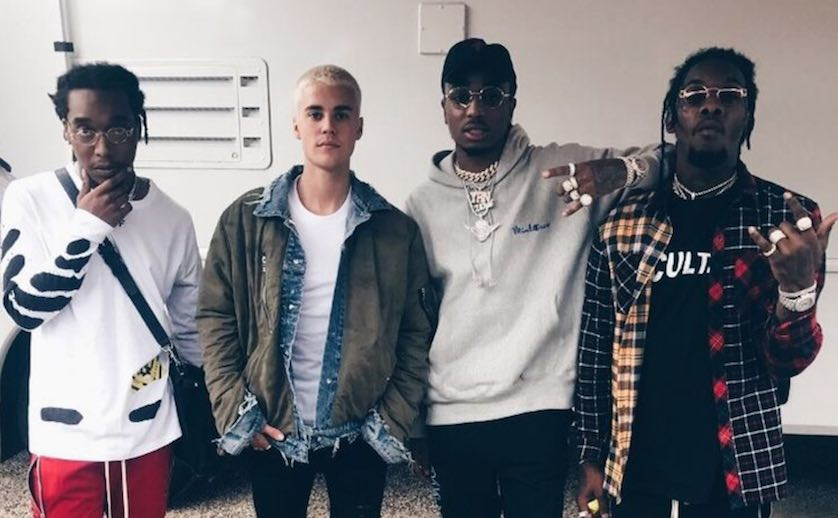 Justin Bieber Taps Migos, Kehlani, & Vic Mensa for 'Purpose' Stadium Tour