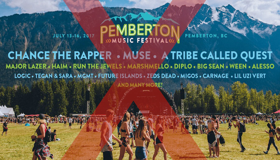 Pemberton Music Festival cancelled, no automatic refunds for ticketholders