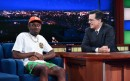 Watch Tyler, the Creator Grab Stephen Colbert's Butt, Perform on 'Late Show'