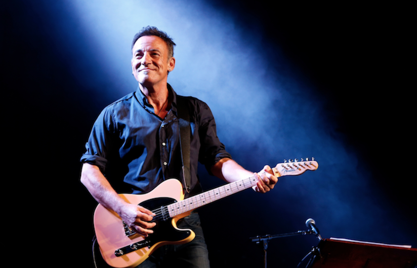 Bruce Springsteen, Obamas, Jon Bon Jovi Set for Hillary