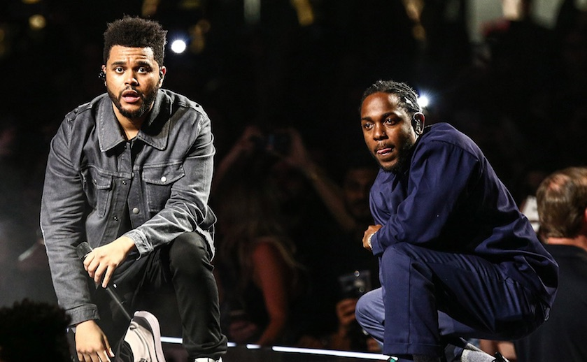 Kendrick Lamar & The Weeknd Drops